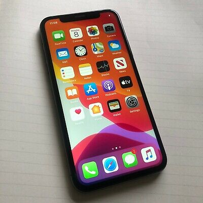 Apple iPhone X - 64GB - Space Grey (Unlocked) A1901 (GSM) No Face ID