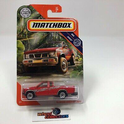 '95 Nissan Hardbody (D21) * RED * 2020 Matchbox Case U / Mix 3