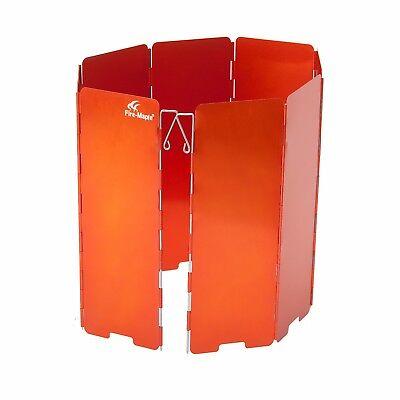 Alu Windschutz Windscreen Hitzereflektor faltbar Camping Gas/Benzinkocher FW508