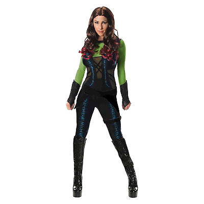 Secret Wishes Women's Guardians of the Galaxy Gamora Costume](Marvel Women Costume)