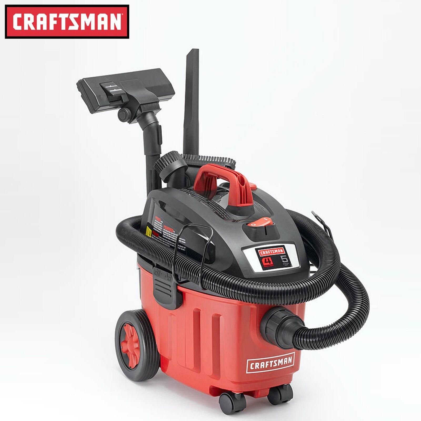 Craftsman Ultra-Quiet 4 Gallon 5 Peak HP Portable Household