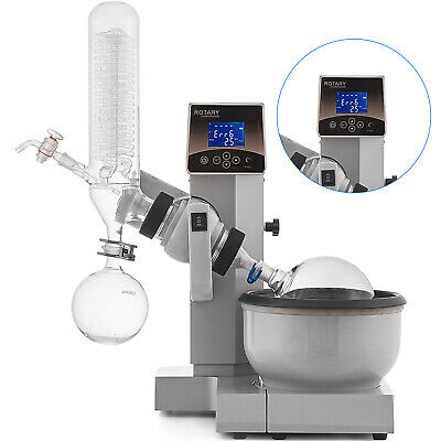 2l Rotavapor Re2000e Rotary Evaporator 1500w Heating Water Bath Condenser Pro