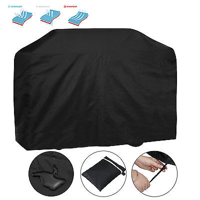 Large BBQ Cover Outdoor Patio Barbecue Grill Protector Rain Snow Waterproof