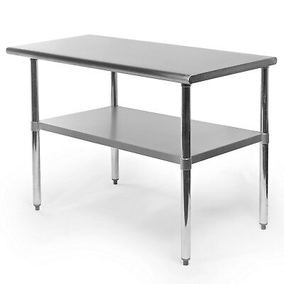 Commercial Stainless Steel Kitchen Food Prep Work Table - 24 X 48