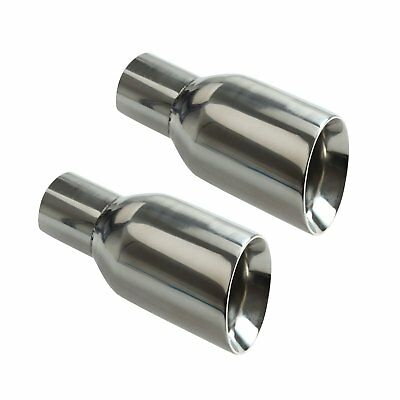 - Slant Cut Exhaust Pipe Tips 2.5