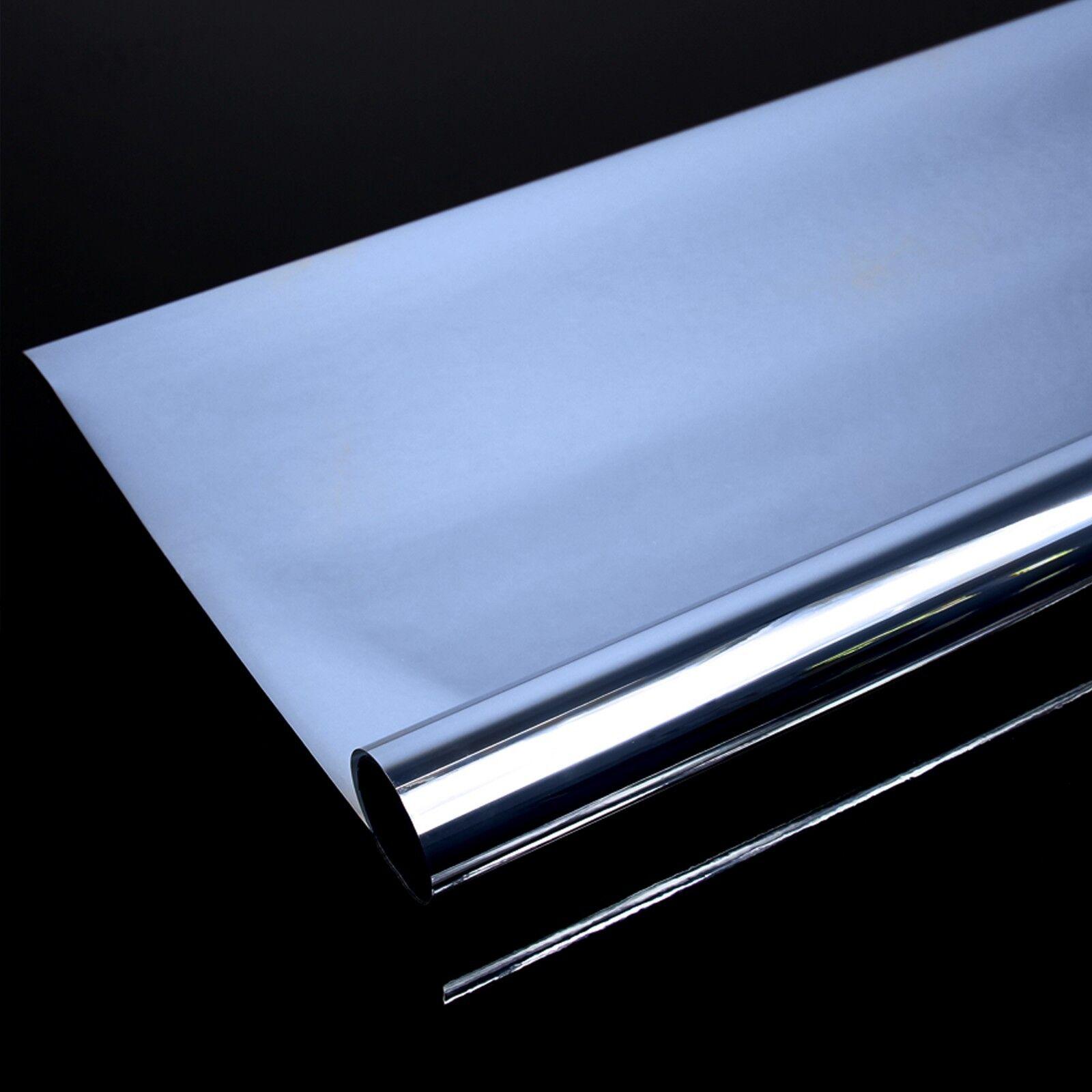 4 92 m spiegelfolie fensterfolie spiegel folie fenster glas scheiben spion eur 1 20. Black Bedroom Furniture Sets. Home Design Ideas
