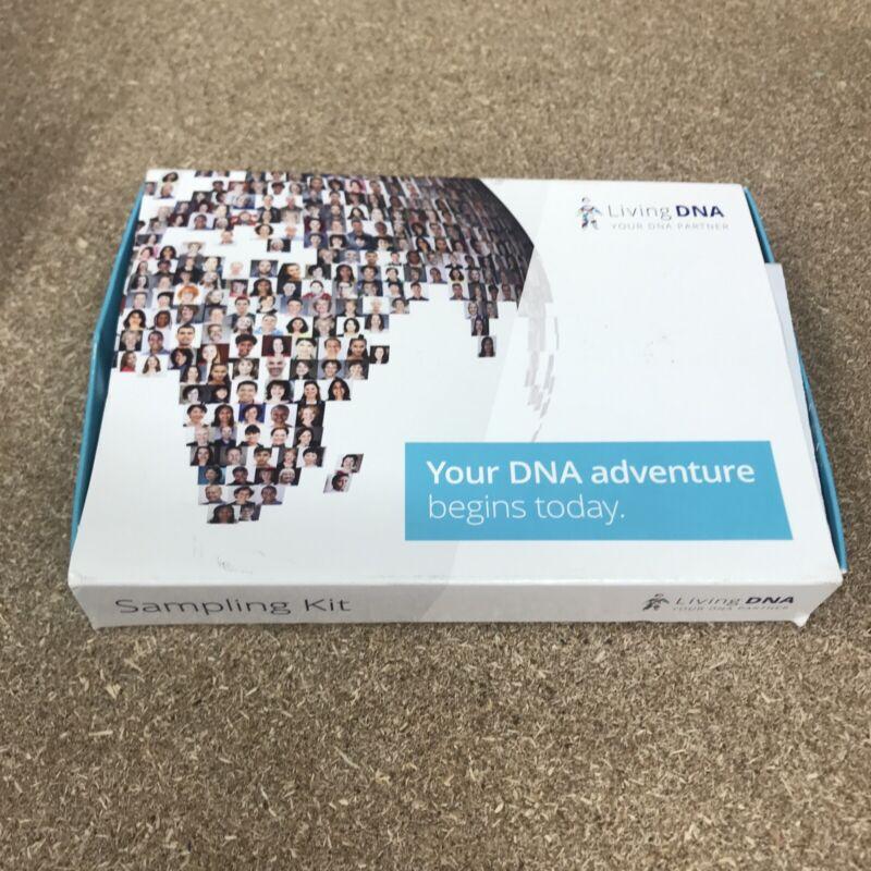 NEW Living DNA Ancenstry Testing Kit Mouth Swab Saliva Expires 05/31/2021