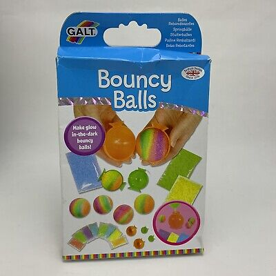 Galt Toys Bouncy Balls - Make Glow in the Dark Balls Craft Create - New in Box ()