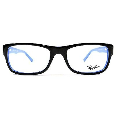 New Ray Ban Women's Optical Eyeglasses RX Frame RB5268 5179 Black Blue 50-17-135