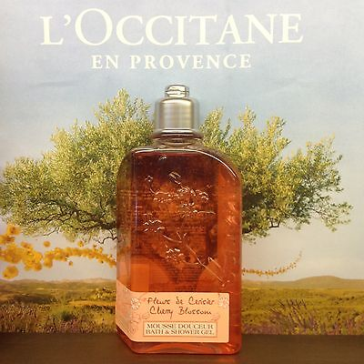 L'OCCITANE Cherry Blossom Bath Shower Gel 250ml Natural Fresh Delicate 15%OFF  for sale  Shipping to Ireland