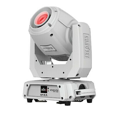 Chauvet DJ Intimidator Spot 360 White 100W Feature Packed Wedding DJ Moving Head
