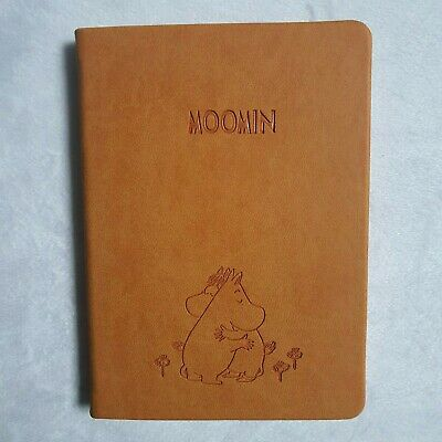 Notebook Moomin Daily Weekly Monthly Yearly undated Diary Scheduler 224p 11x15