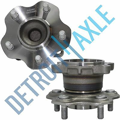 2 Rear Wheel Bearing Hub Set for Nissan Altima Maxima Non-ABS 2.5L 3.5L