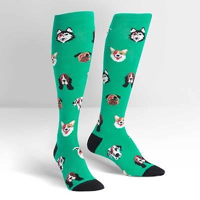 Dogs of Rock Stretch-It™ Knee Hi Sock New Unisex XL Women's 12/Men's 13 Fashion