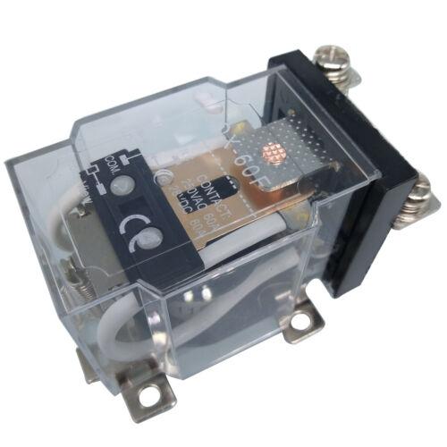 US Stock JQX-60F 1Z AC 110V 60A 1NO 1NC 5 PIN Coil Power Electronmagnetic Relay