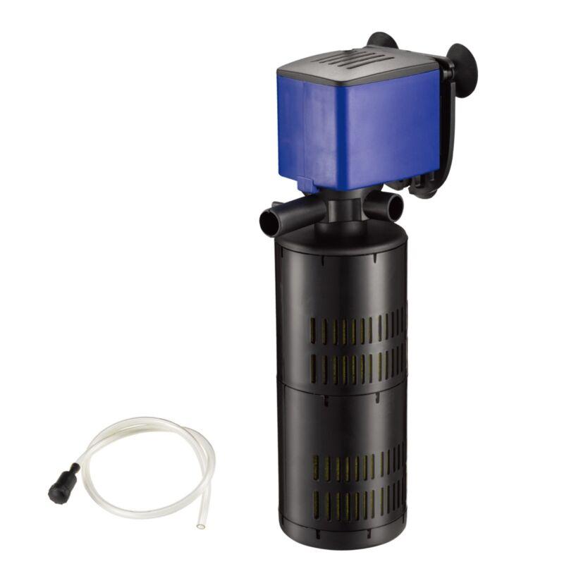320 GPH 3 in1 Internal Filter Oxygen Submersible Water Pump Fish Tank Aquarium