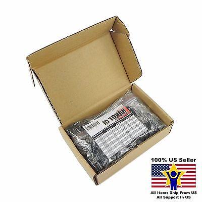 10value 300pcs 10v Electrolytic Capacitor Assortment Box Kit Us Seller Kitb0007