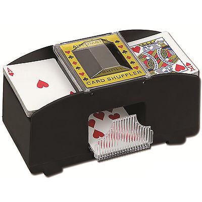 AUTOMATIC PLAYING CARDS SHUFFLER POKER CASINO ONE/TWO DECK CARD SHUFFLE SORTER