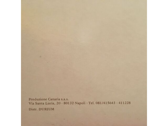 Vinyl LP album: Carmelo Zappulla - Non c'è Titolo [nuovo da negozio]