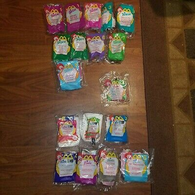 15 different Barbie McDonald's Happy Meal 18 Toys Sealed 1999 2000 1995 Lot Set