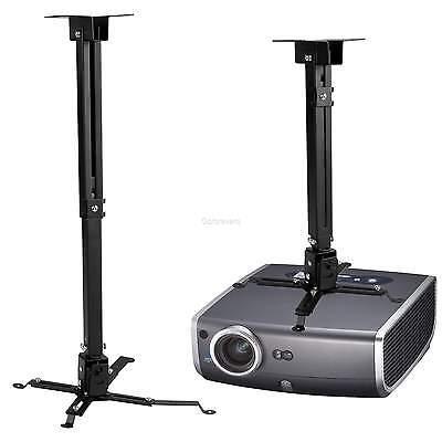 Homdox Deckenhalterung Projektor Beamer Halterung universal bis 20kg Schwarz Neu