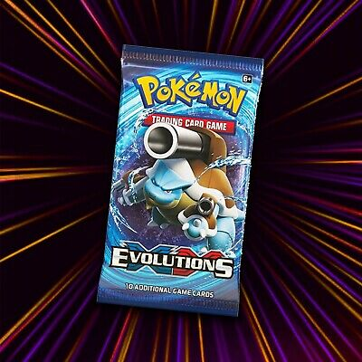 1x Pokemon XY Evolutions Sealed Booster Pack Pokemon Cards