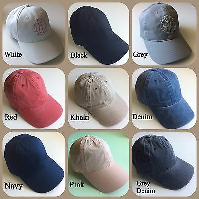 Monogrammed Baseball Cap ()