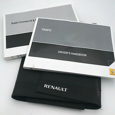 GENUINE VAUXHALL VIVARO OWNERS MANUAL HANDBOOK WALLET 2006-2014 PACK