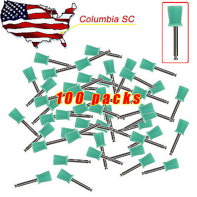 100 Pieces Dental Prophy Tooth Polishing Cups Brush Webbed Latch Type Rubber Dr.