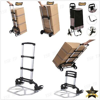 Hand Truck Dolly Luggage Carts 220 Lbs Collapsible Portablefoldableheavy Duty