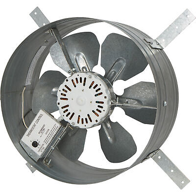 Strongway 14in.gable Exhaust Fan-116hp1200cfmwthermostatfor 1800sqft.attic