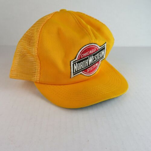 VTG NOS Hat Cap - Chicago and North Western Transportation Train - Railroad Line