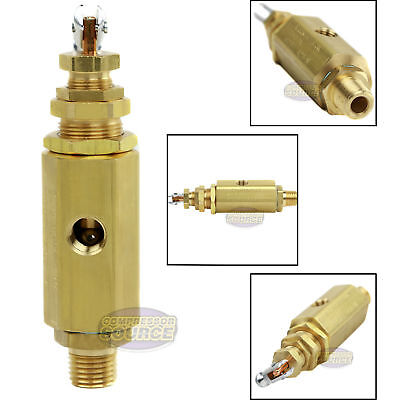 Air Compressor Unloader Control Pilot Valve 115-130 Psi Brass New