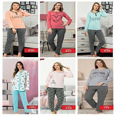 chlafanzug Set Pyjama Set Baumwolle verschiedene Modelle (Kleid Pyjamas)