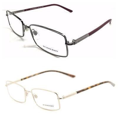 BURBERRY Men's Rectangular Eyeglass Frames B1239 54mm $200 (Burberry Men's Eyeglass Frames)