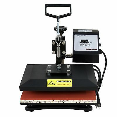 New 12 X 10 Clamshell Heat Press T-shirt Digital Transfer Sublimation Machine