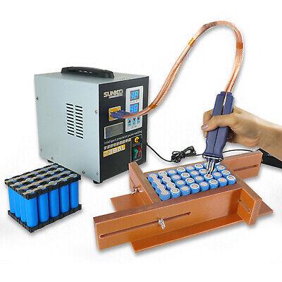 738al Pulse Spot Welder Welding Soldering Machine Battery Packs 110v 3.6kw