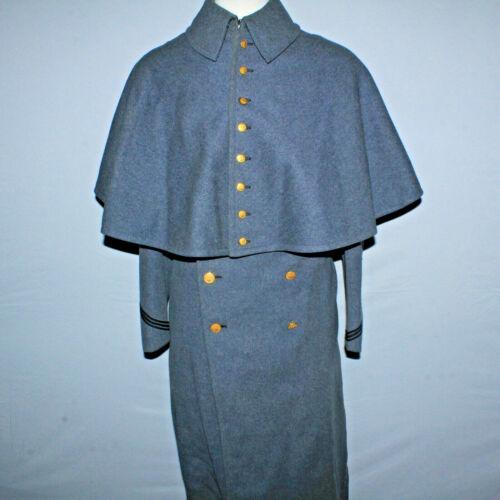 VTG USMA West Point Cadet Army JV Military Parade Wool Long Jacket Great Coat