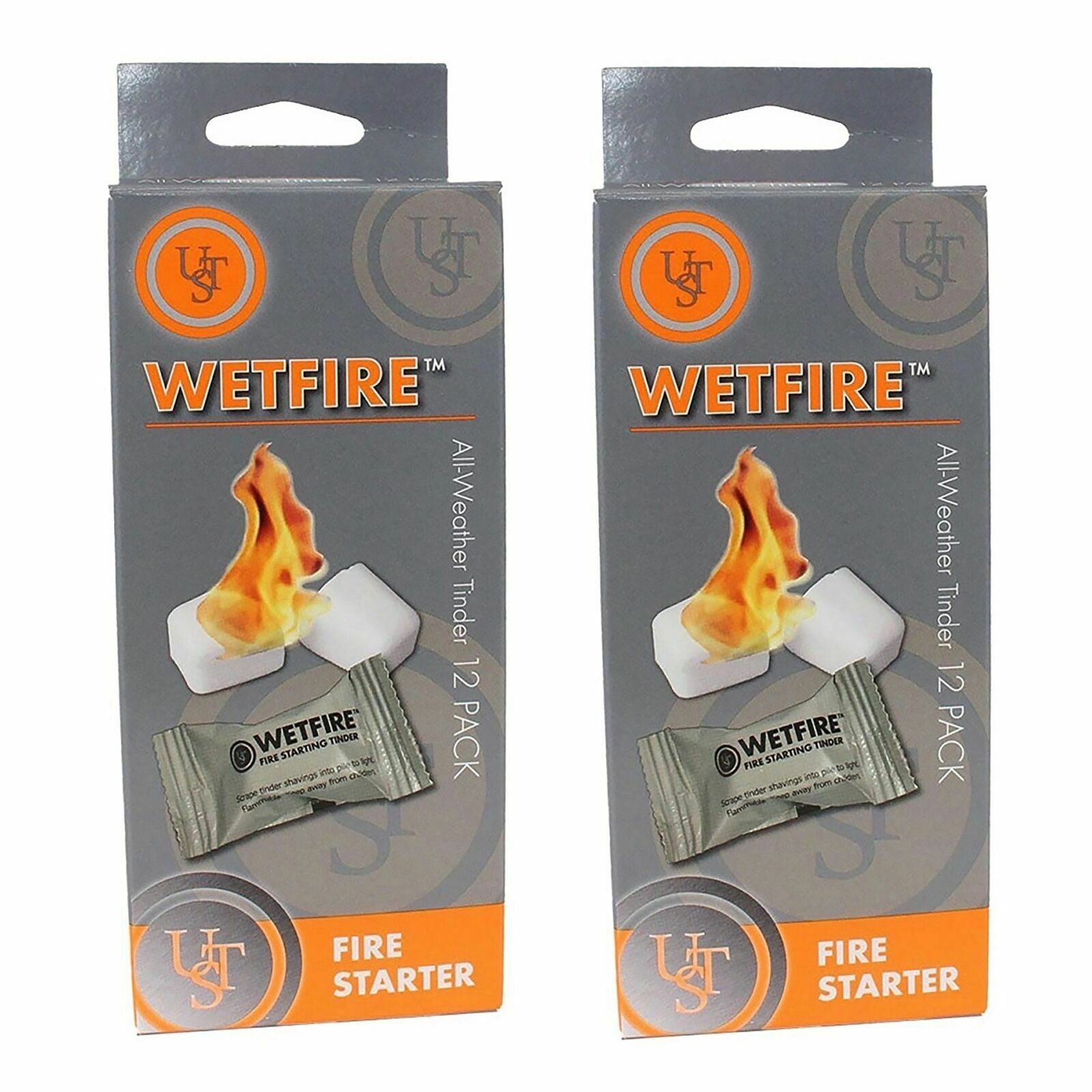UST WetFire Tinder, 12-Pack