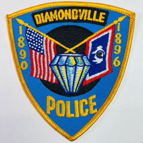 Diamondville Police Lincoln County Wyoming WY Patch