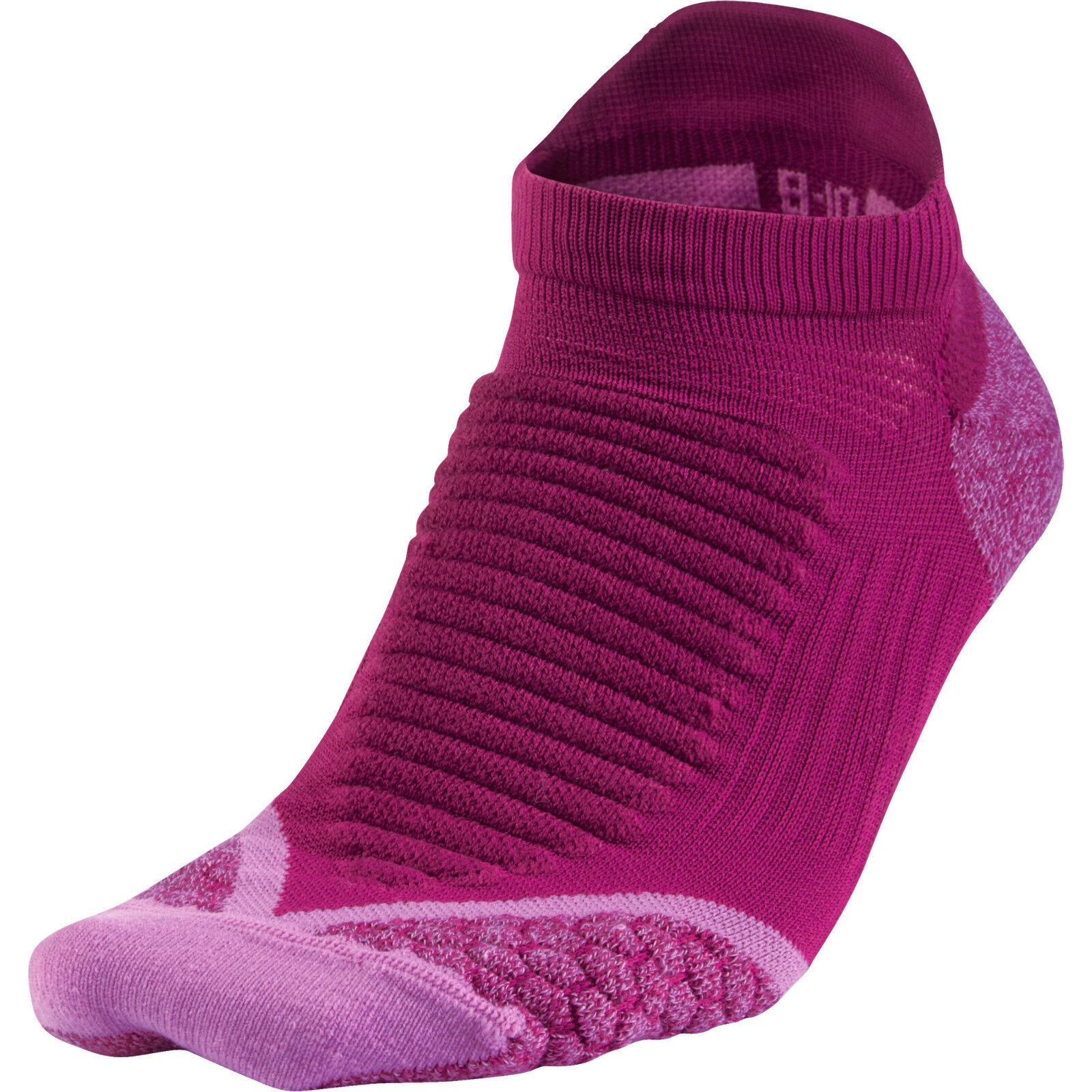 Nike Elite Laufen Tab Socken Sz 3 Medium Lila Herren (8-9.5) Damen (9.5-11)