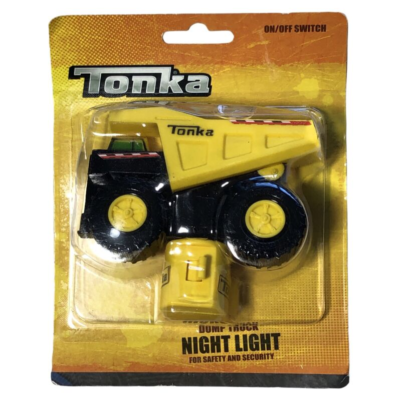 Tonka Dump Truck Night light For Safety And Security Nightlight LED
