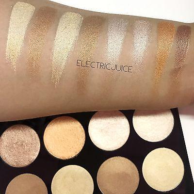 Nabi Colorfix Baked Highlight Bronzer Palette Shimmer Strobe Pigmented Makeup