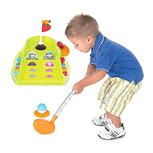 NEW CHICCO FIT & FUN MINI GOLF SET CHILDS PUTTING TOY WITH SOUND EFFECTS