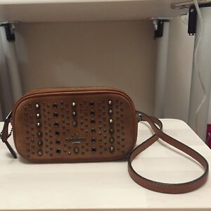 Coach Double Zip Crossbody Bag