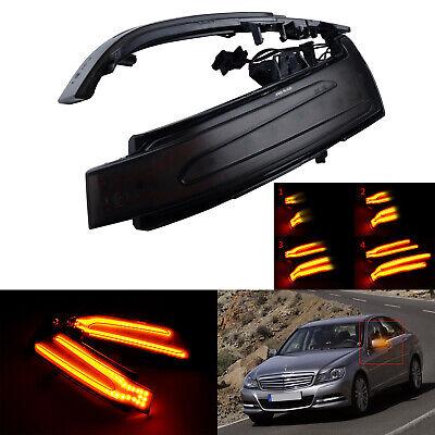 2x Gelb Dynamische Spiegelblinker Für Mercedes Benz W212 W221 W204 2129067401