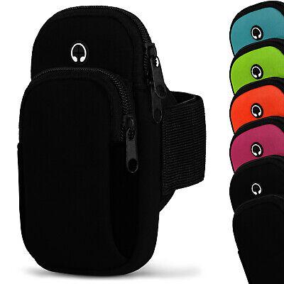 Sport Armband für Samsung Galaxy A50 Case Ober Arm Halterung Armgurt Wasserfest (Handy Halterung Für Laufband)