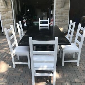 Harvest Table plus 6 chairs