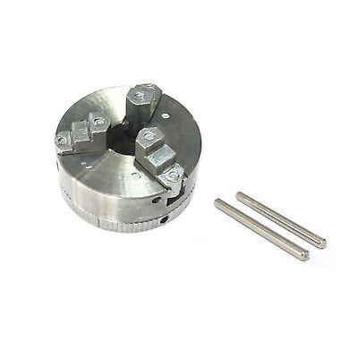 Mini Machine 3-jaw Chuck Lathe Drill Micro Clamp W 2 Chuck Key Drilling Tool