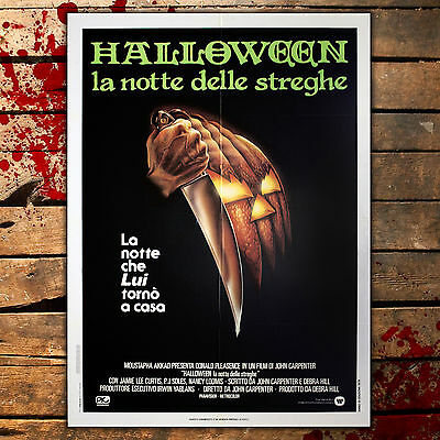 Film Original Affiches Halloween - John Carpenter - 1978 - Taille:100x140 Cm